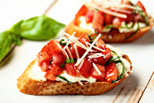 Kick Ass Bruschetta