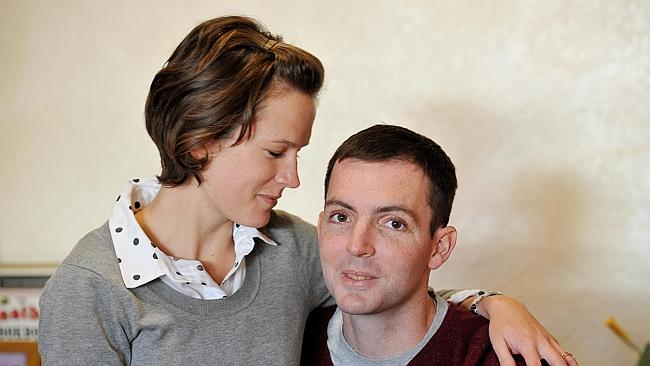 Dan Haslam with his wife Alyce. (Photo Credit: The Daily Telegraph)