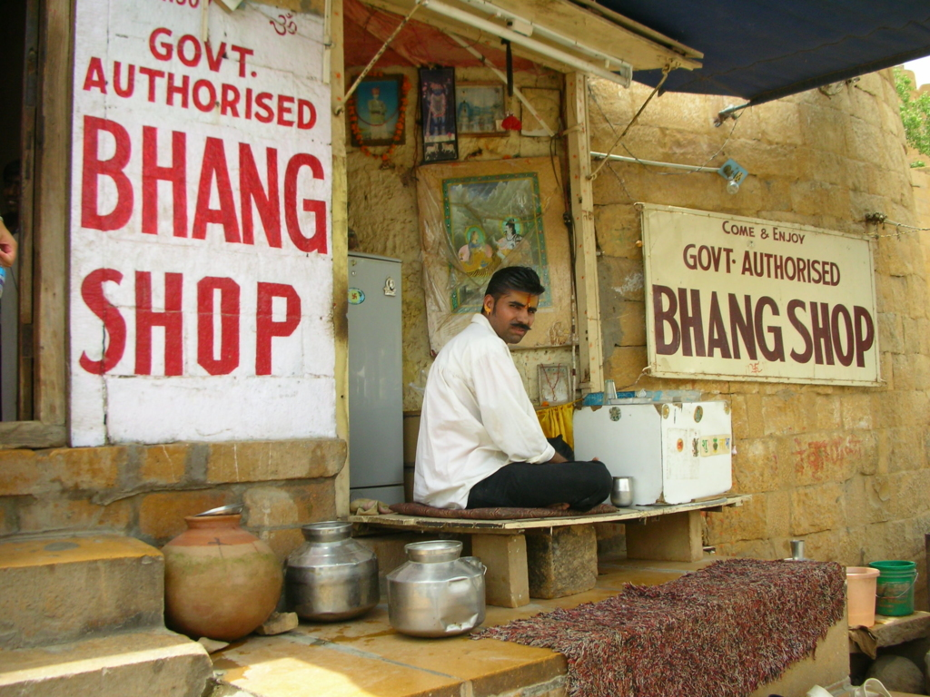 Bhang is often served at Holi